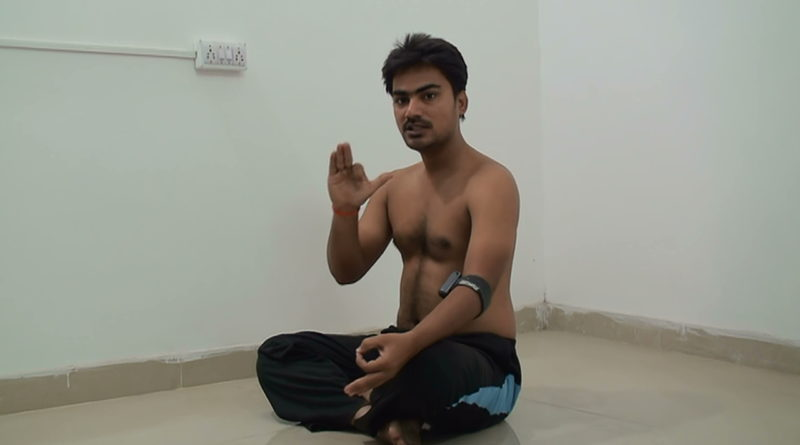 Pratiloma Pranayama – Alternate nostril breathing